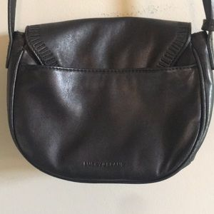 Lucky Brand Leather Saddle Bag Style Cross Body